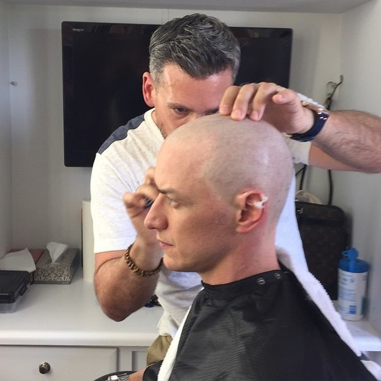 James McAvoy Has Gone Bald for X-Men: Apocalypse