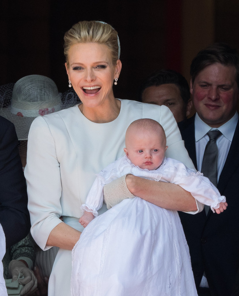 The Royal Twins Of Monaco Are Baptized