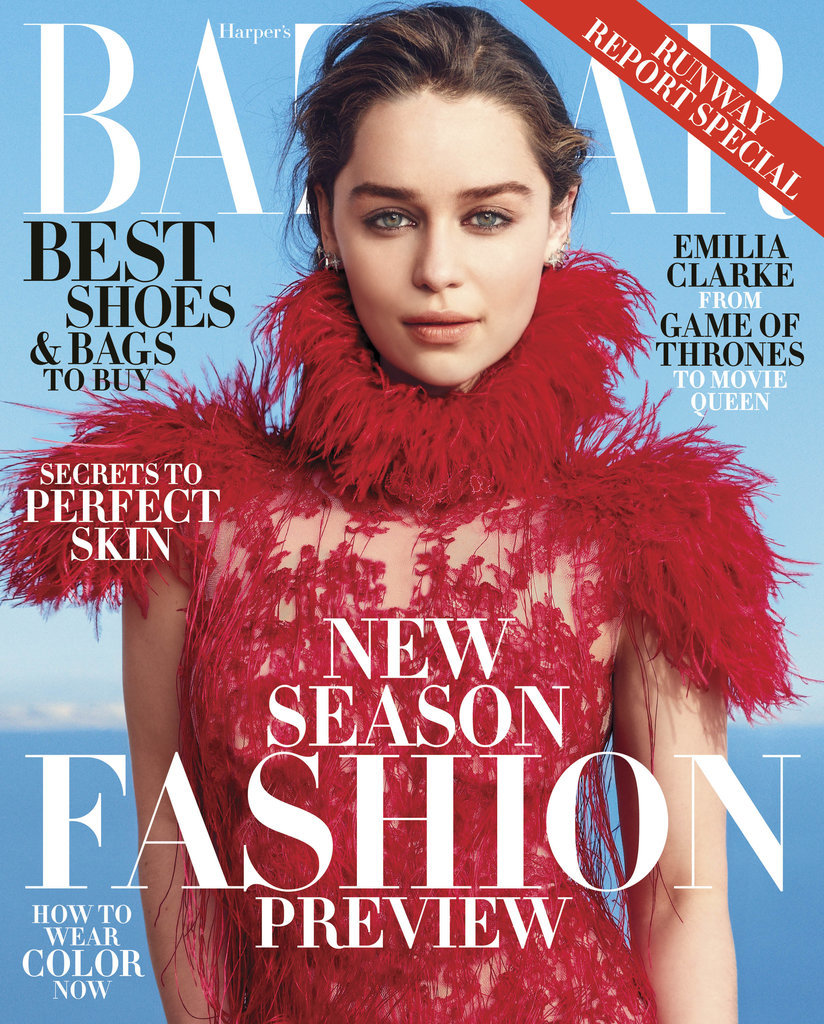 Emilia Clarke Interview Harper's Bazaar June July 2015 ...