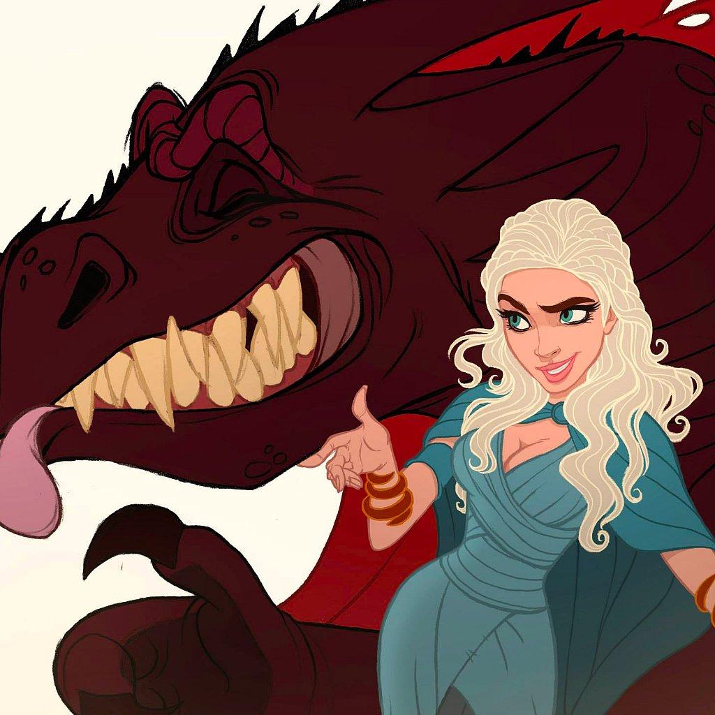 Disney Game of Thrones | POPSUGAR Love & Sex