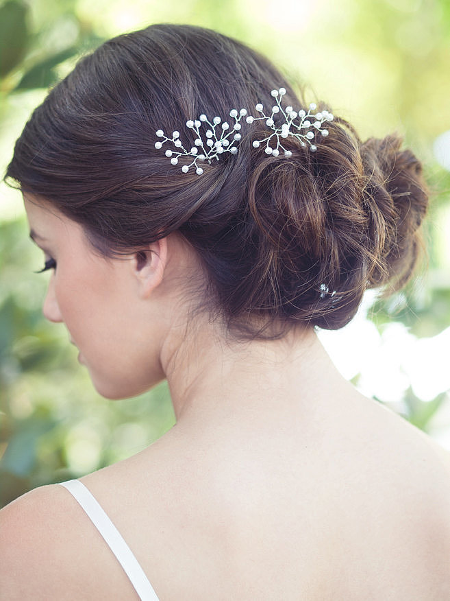 Inspired By Baby S Breath This Wire Hairpin 80 Is Made