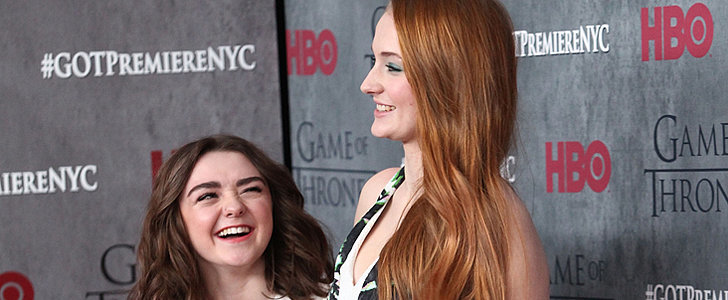Game of Thrones Costars Sophie Turner and Maisie Williams Are the Cutest BFFs