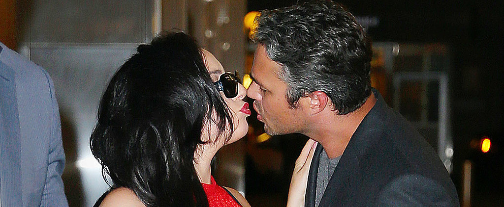 Lady Gaga and Taylor Kinney's Postdinner Makeout Session Is So Sexy