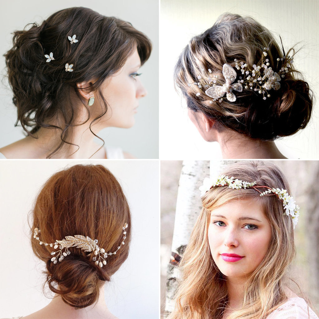 cheap wedding hair accessories bridal hair romantic wedding hair