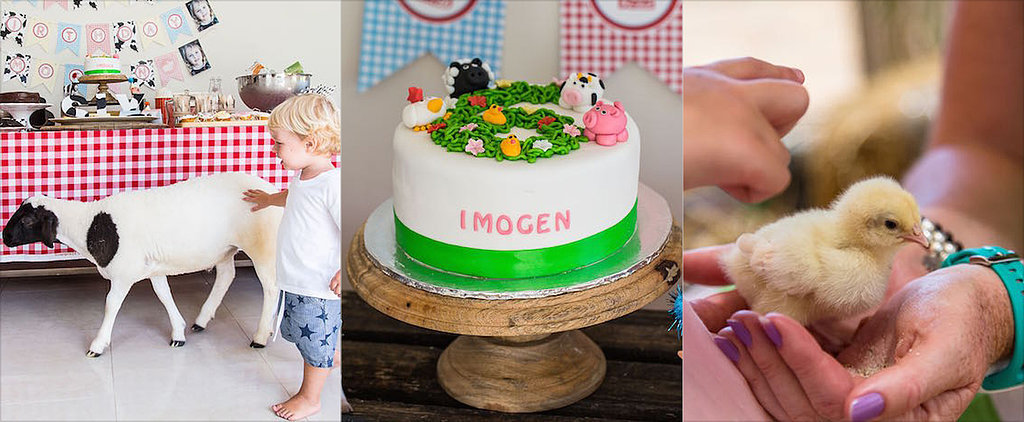 Get the Furry Friends Involved in a Petting-Zoo Birthday Party