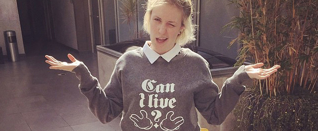 18 Times Lena Dunham's Instagram Was So Damn Relatable