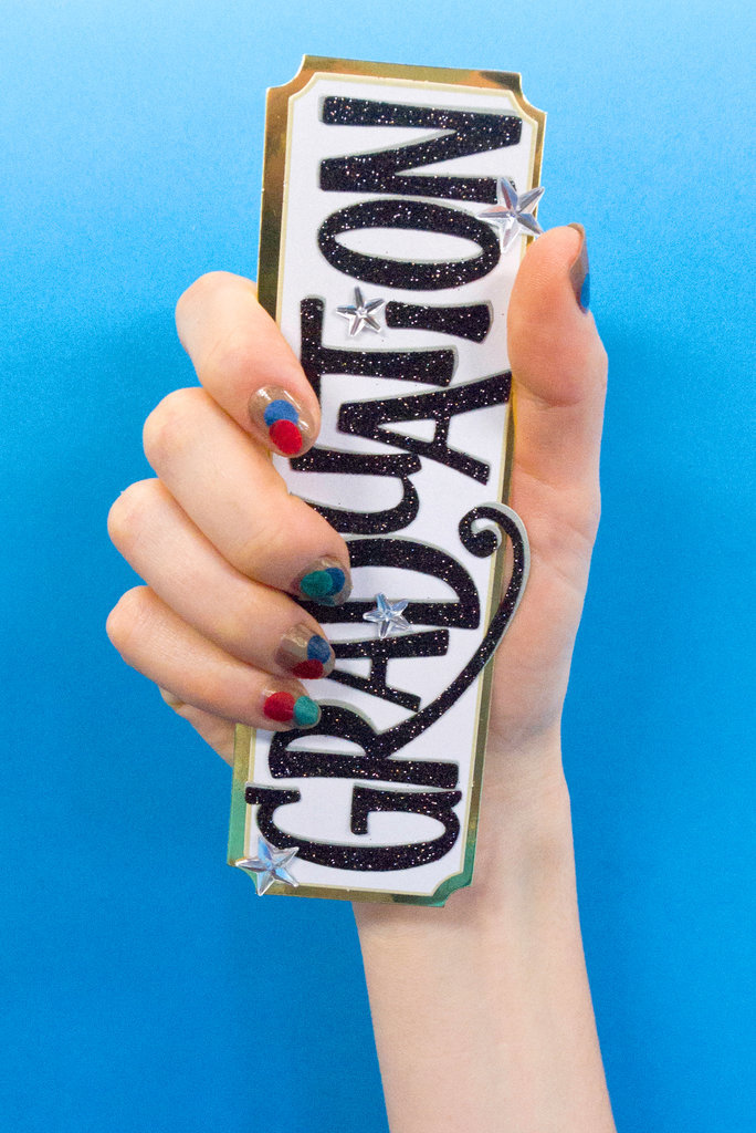 This Confetti Manicure DIY Is Perfect For Your Graduation