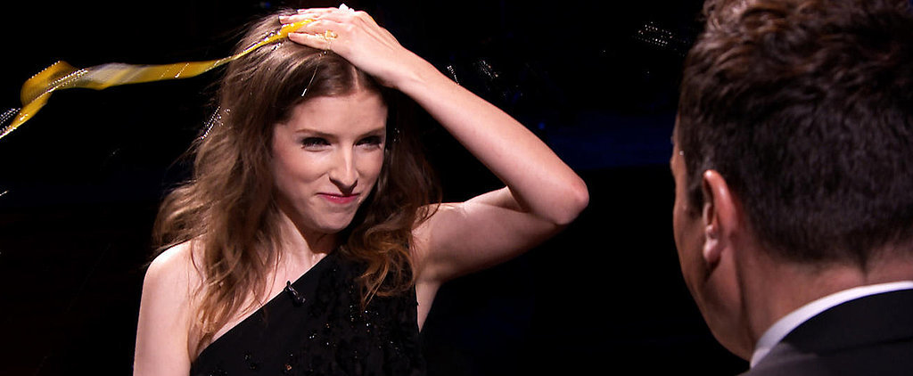 Watch Anna Kendrick Smash Eggs on Her Head — in Slow Motion!