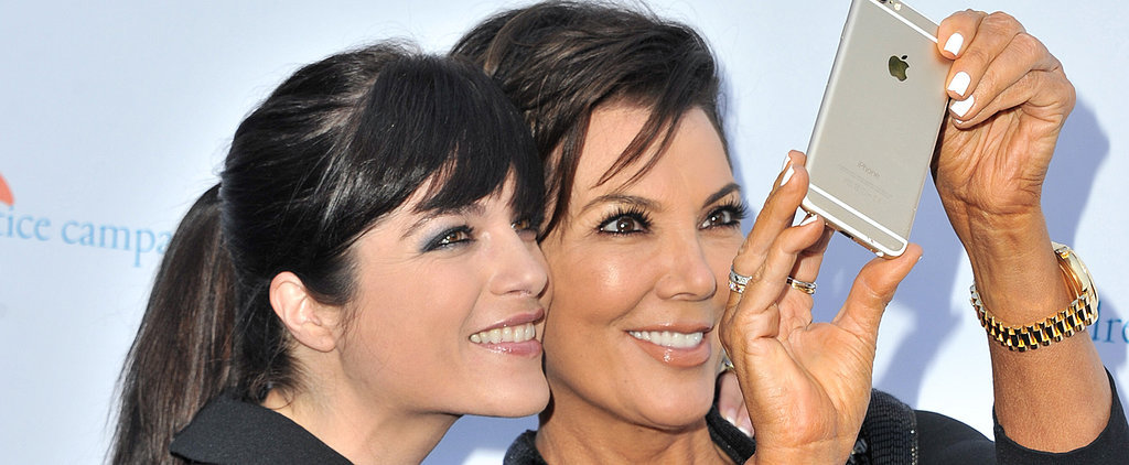 Kris Jenner Gives Selma Blair Her Casting Approval With Smiley Selfies