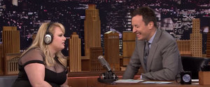 Rebel Wilson Is Ridiculously Good at Playing Jimmy Fallon's Whisper Challenge Game