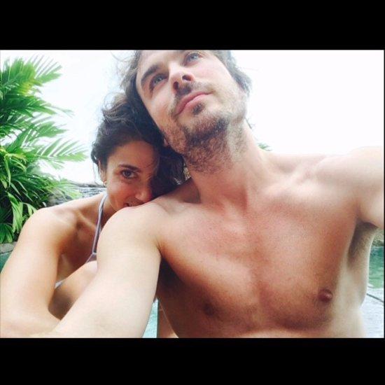 "Ian Somerhalder Thanks His ""Beautiful"" Wife, Nikki Reed, in Shirtless Instagram Photo"