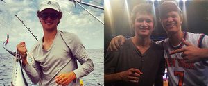 It's Time to Swoon Over Ansel Elgort's Supercute Look-Alike Brother