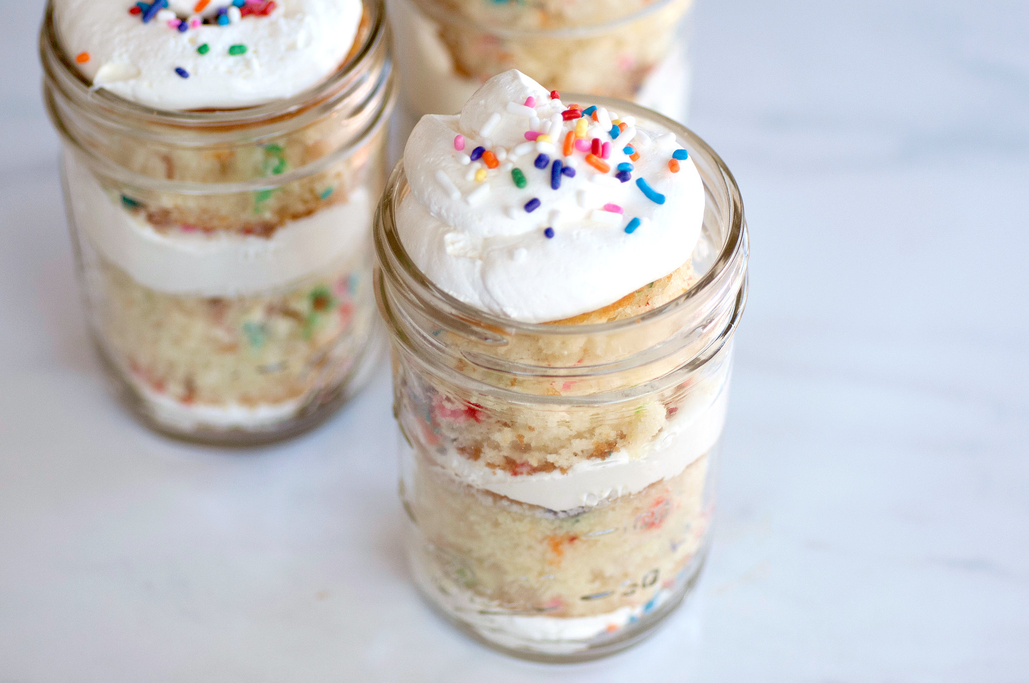 Mason Jar Cake Ideas