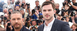 22 Gorgeous Photos of Tom Hardy and Nicholas Hoult in Cannes