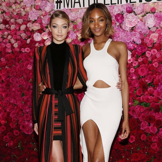 Gigi Hadid and Jourdan Dunn at Maybelline 100th Anniversary