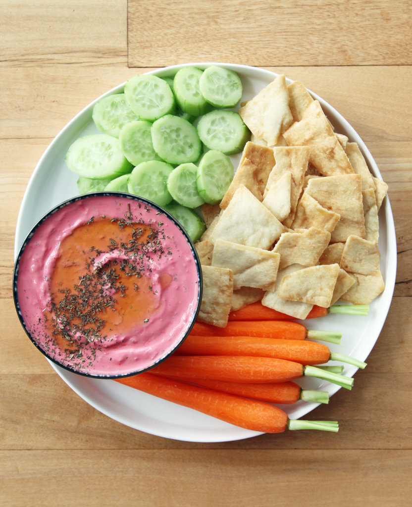 Beet Mint Yogurt Dip