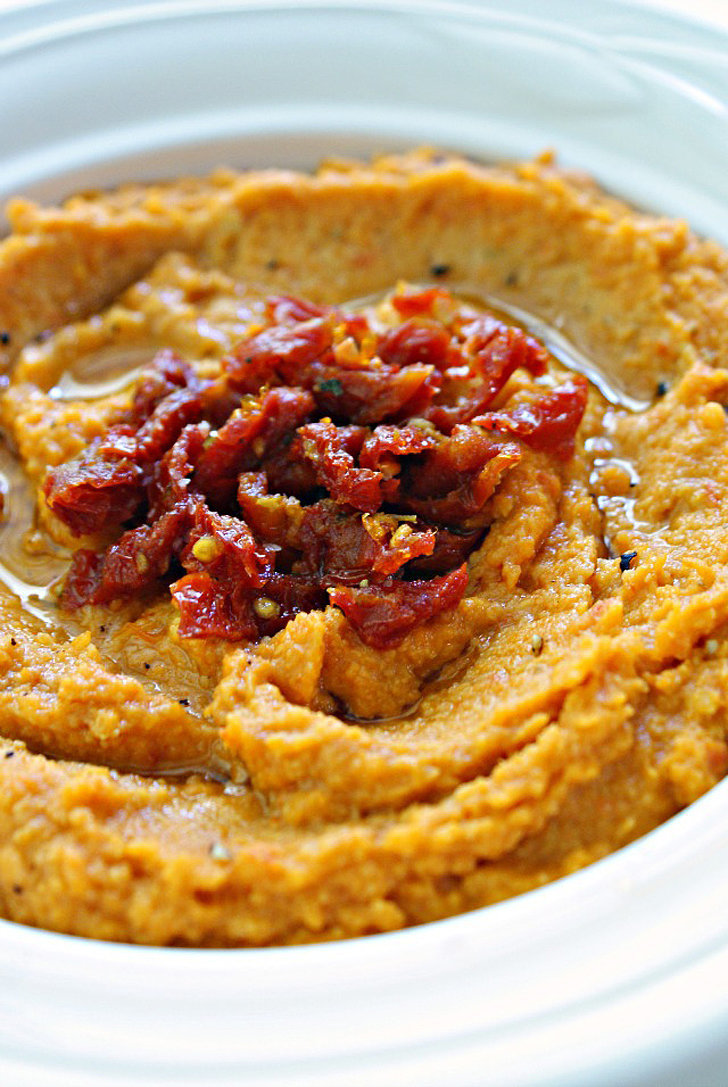 Sun-Dried Tomato Hummus | 50 Dips For Delish Dunking | POPSUGAR Food
