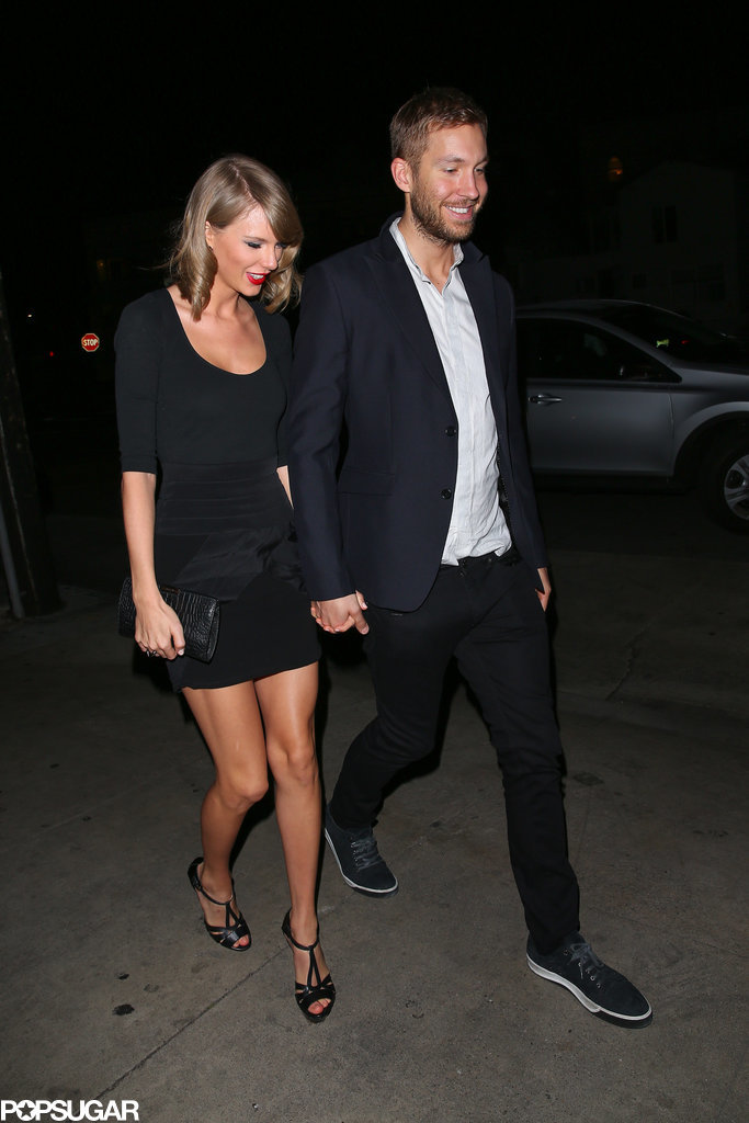 Taylor Swift and Calvin Harris at Gjelina | POPSUGAR Celebrity