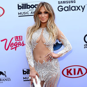 Pictures of Jennifer Lopez at 2015 Billboard Music Awards