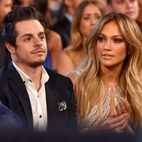 Jennifer Lopez and Casper Smart 2015 Billboard Music Awards