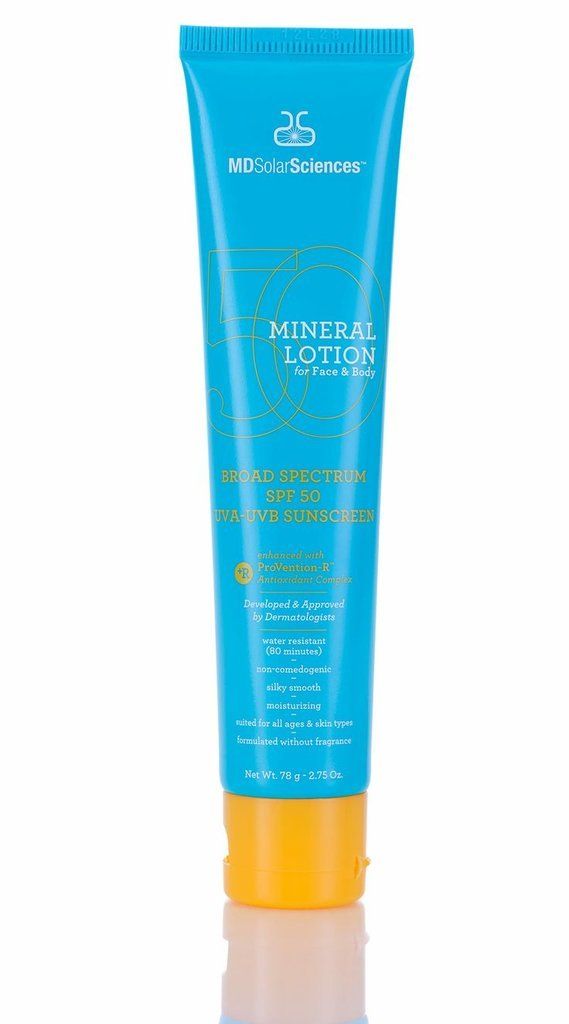 Amazon Find: MDSolarSciences Mineral Lotion For Face and Body Sunscreen, SPF 50
