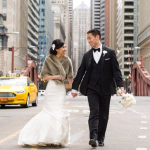 Glamorous Chicago Wedding Photos