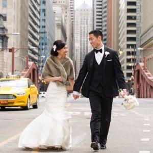 Glamorous Chicago Wedding Photos