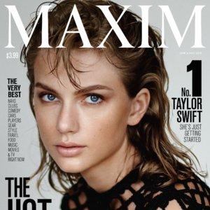 Taylor Swift Tops Maxim 2015 Hot 100 List