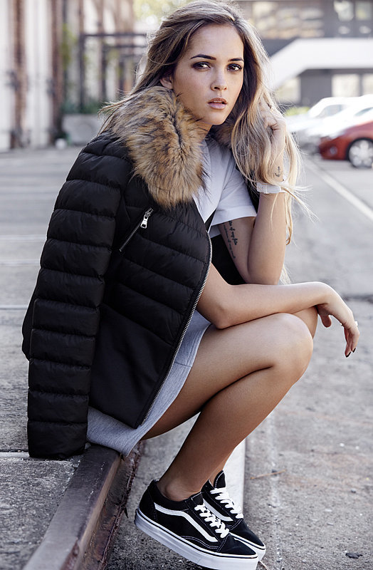 PS: You go to lots of evening events— do you have any tips for mastering Winter style for a night out? AS: Have a different jacket for every day of the week. You will get sick of wearing the same one every time you go out so grab a few different shapes, sizes and colours and you will be able to mix up any outfit and stay warm!