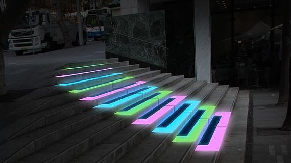 Piano Stairs What Lights To See At This Year S Vivid Fest Popsugar Celebrity Australia