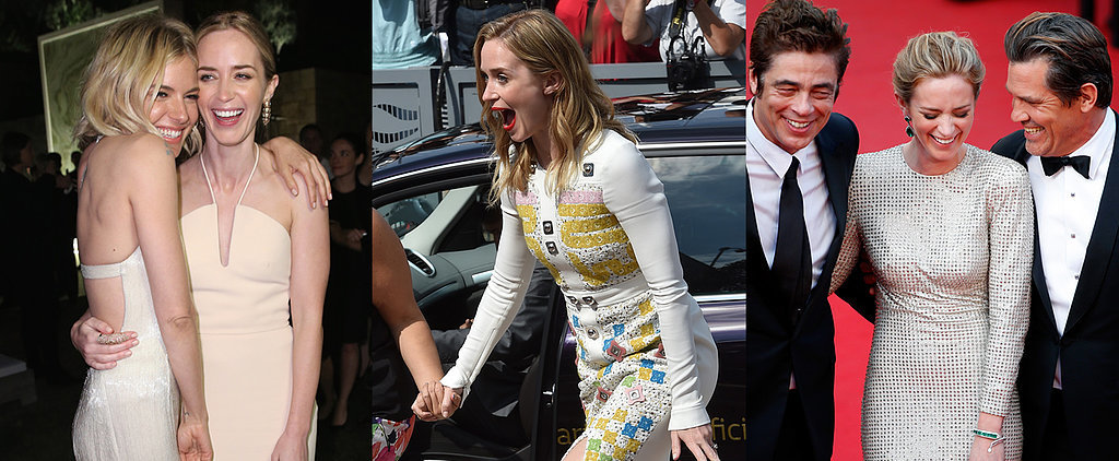 Emily Blunt Is Having a Ball in Cannes, Even Without Her Handsome Hubby