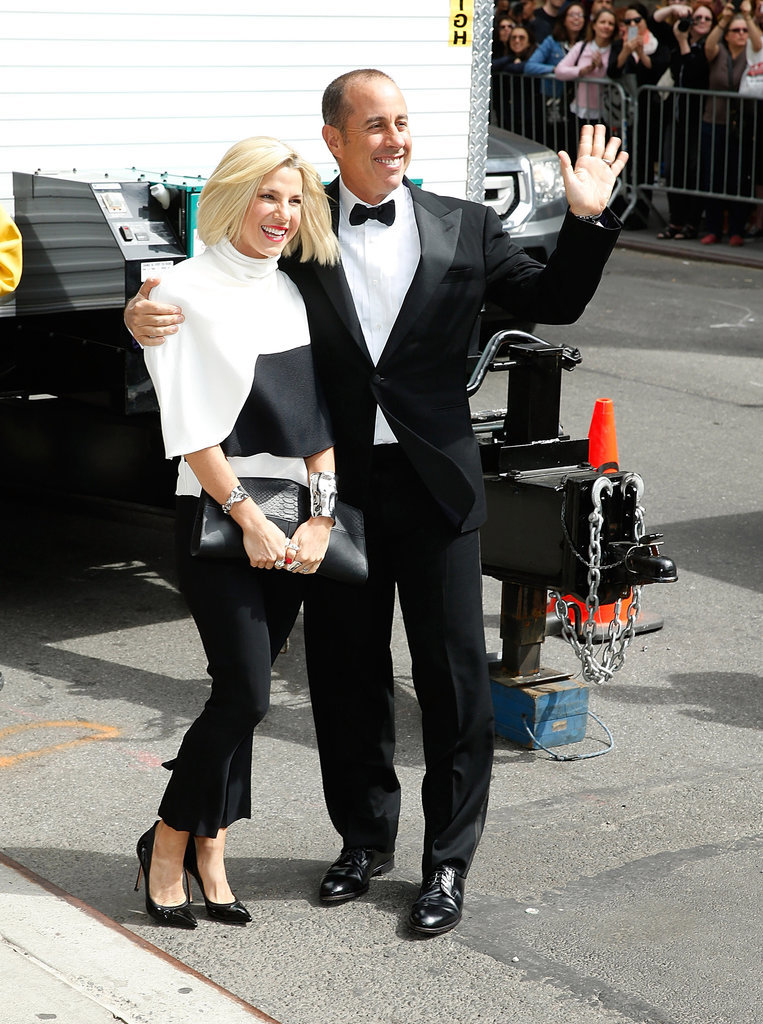 Jerry and Jessica Seinfeld