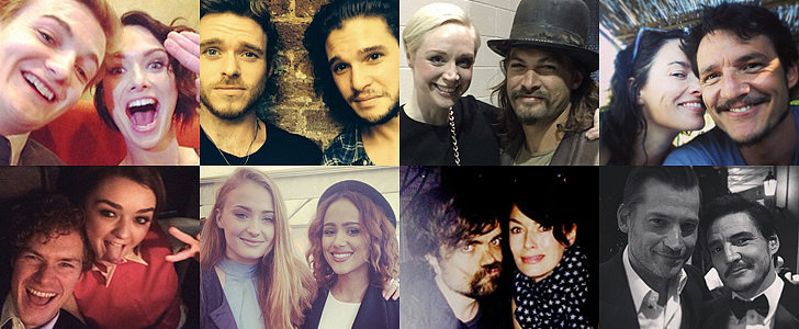 31 Must-See Photos of the Game of Thrones Cast Out of Character