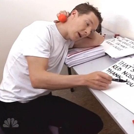 Robert Pattinson, Benedict Cumberbatch, and More Brits Get Hilarious Red Nose Day Tasks