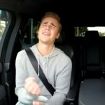 Justin Bieber Sings Baby While Carpooling With James Corden