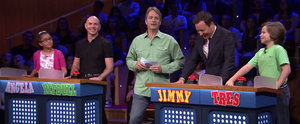 Jimmy Fallon and Pitbull Play Are You Smarter Than a 5th Grader?, and You'll Never Guess Who Came Out on Top