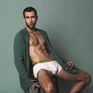 Matthew Lewis Shirtless in Attitude Magazine June 2015