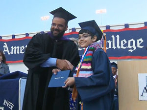 11-Year-Old College Graduate: 'This Isn't Much of a Big Deal to Me'