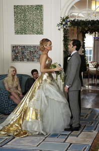See Serena and Dan's Gossip Girl Wedding Album!