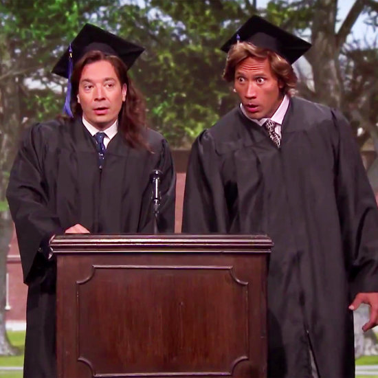 Jimmy Fallon and The Rock's 1989 Commencement Speech