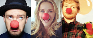 Stars Share Sweet, Silly Social Media Snaps to Support Red Nose Day