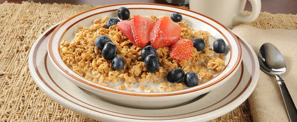 Snack on a Granola Berry Breakfast Bowl This Summer