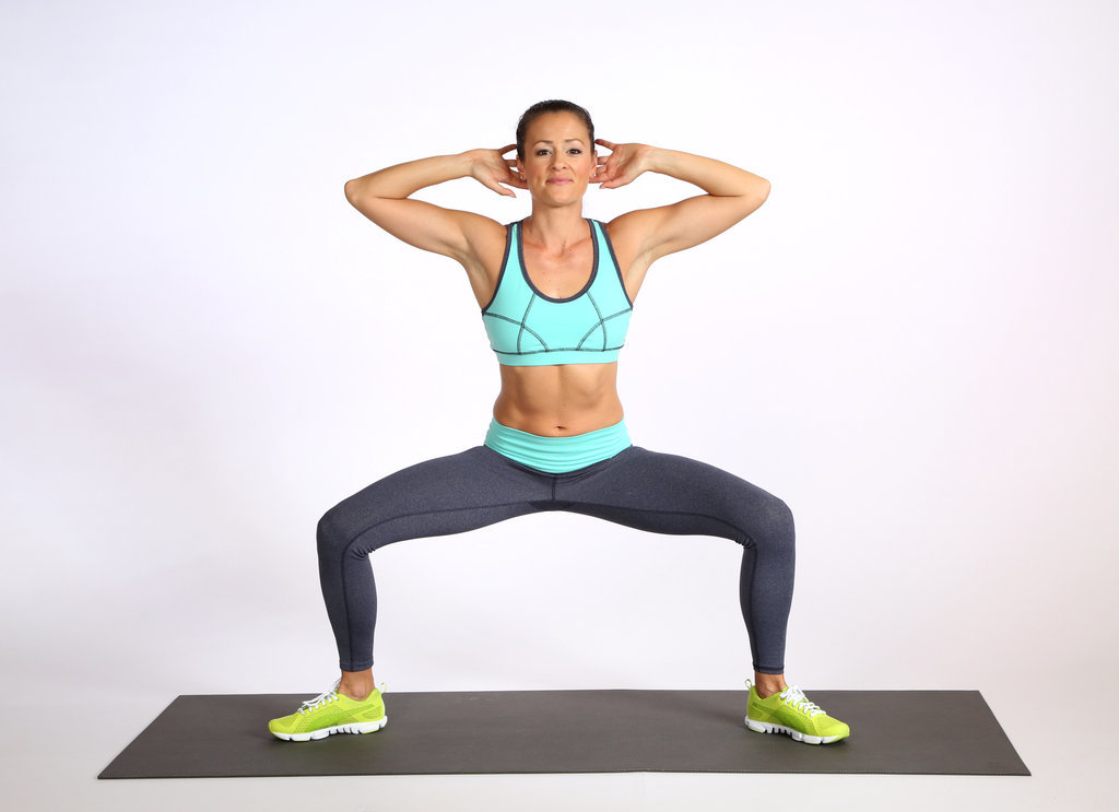 Lower Body: Plié Squat
