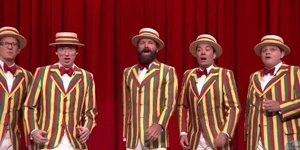 Sting Sings With Jimmy Fallon's Ragtime Gals In Surprise Appearance