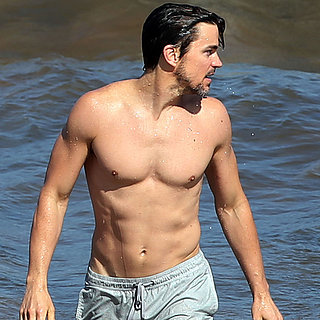 Shirtless Matt Bomer in Maui, Hawaii | Pictures
