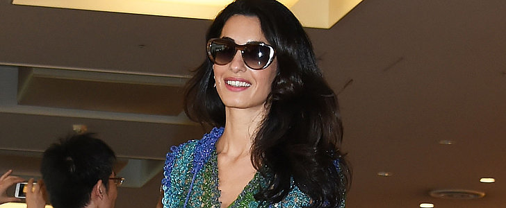 Amal Clooney Touched Down in Tokyo Wearing a Top-Notch Sundress