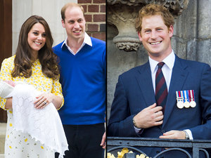 Prince Harry Meets Niece Princess Charlotte - Finally!