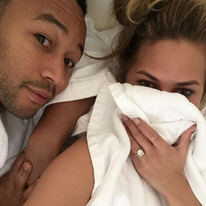 Chrissy Teigen and John Legend Instagram Pictures in Bed
