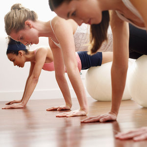 Master This Move: Swiss Ball Pushup