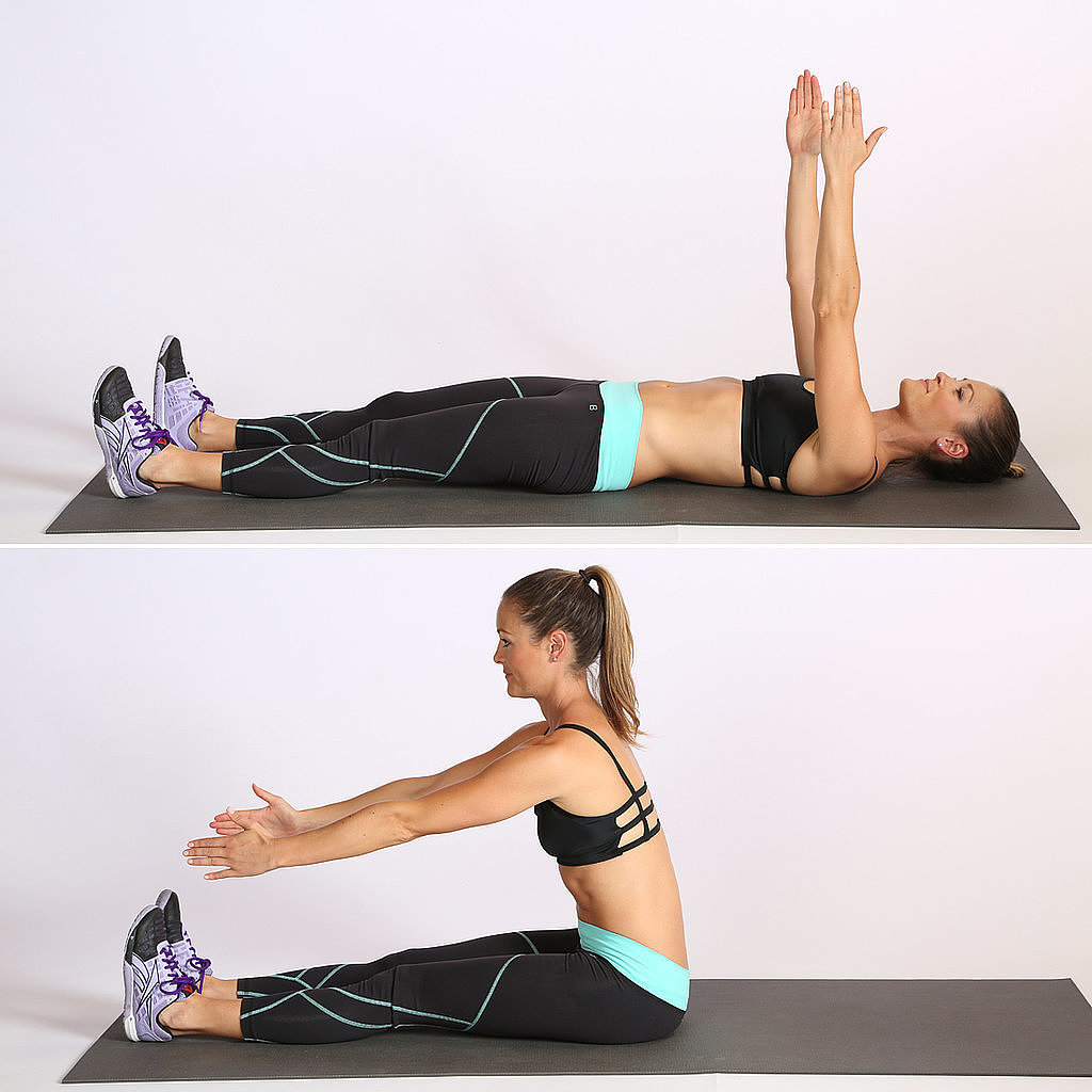 Core: Straight-Leg Sit-Up